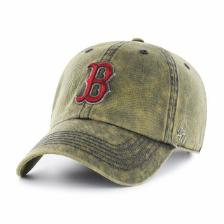 Red Sox Cement '47 CLEAN UP Vintage Navy