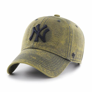 Yankees Cement '47 CLEAN UP Vintage Navy