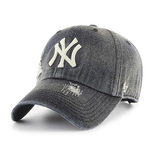 Yankees Loughlin '47 CLEAN UP Black