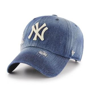 Yankees Loughlin '47 CLEAN UP Navy