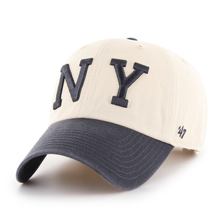 Yankees Cooperstown '47 CLEAN UP Two Tone Natural