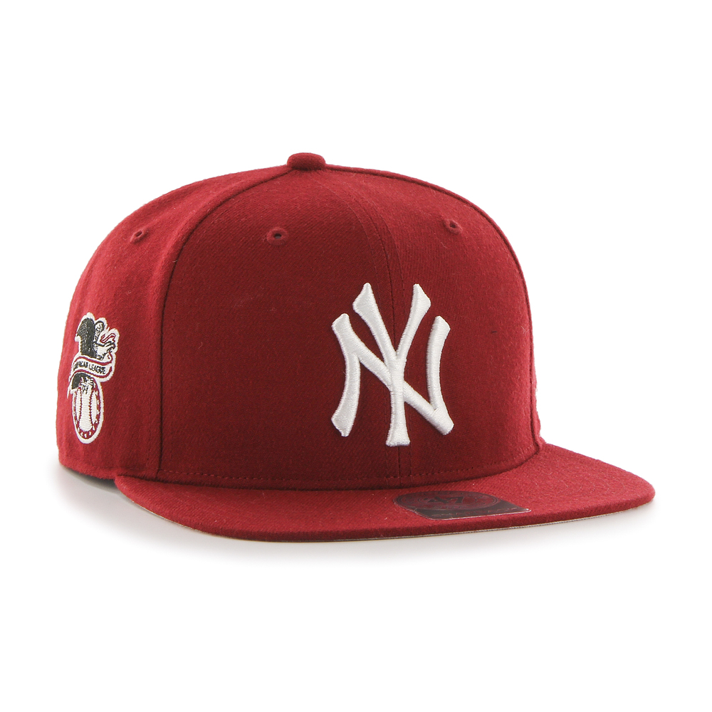 Yankees Sure Shot '47 CAPTAIN Razor Red