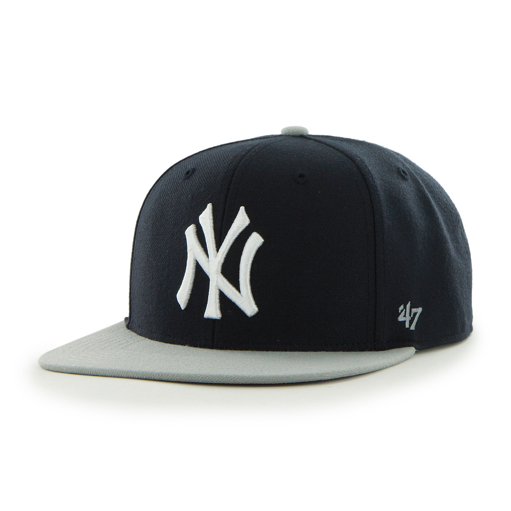 Yankees Sure Shot Two Tone '47 CAPTAIN Navy×Gray