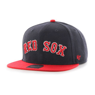 Red sox Script Side Two Tone '47 CAPTAIN