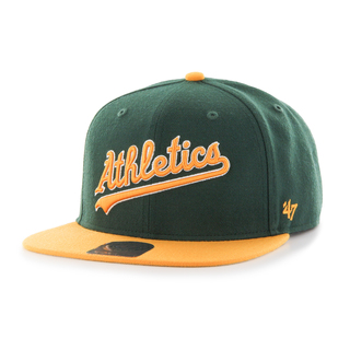 Athletics Script Side Two Tone '47 CAPTAIN