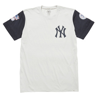 Yankees BIB '47 Veterans Tee Gray×Navy