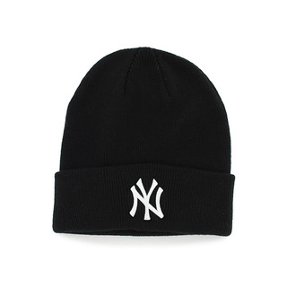 Yankees '47 Raised Cuff Knit Black