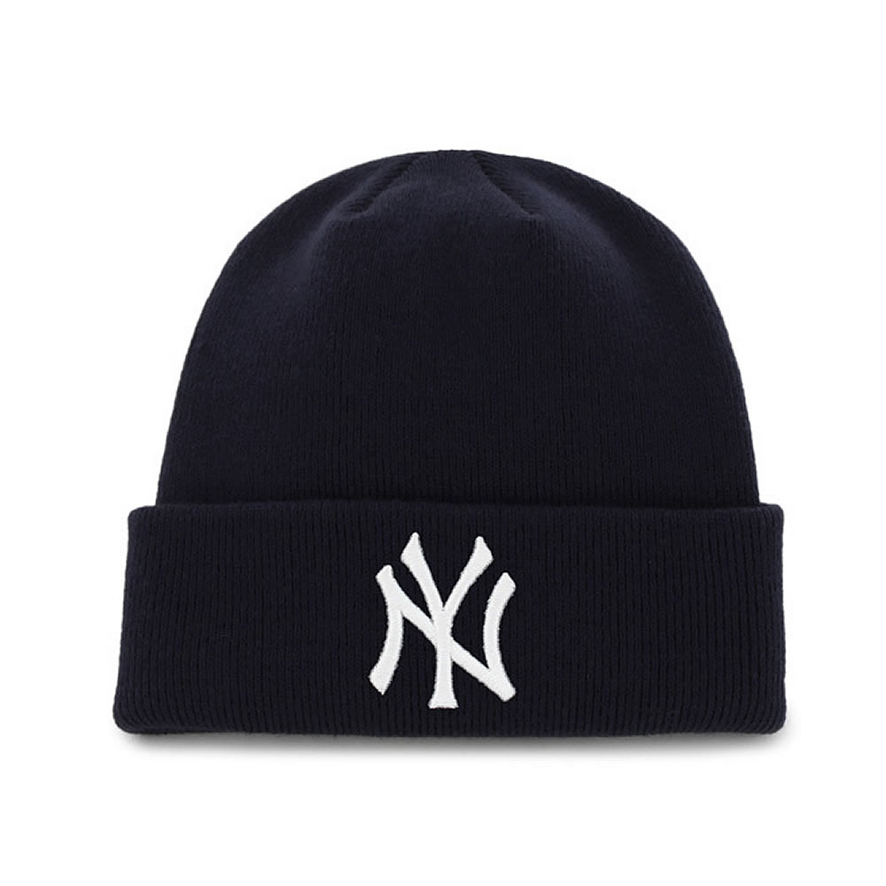 Yankees '47 Raised Cuff Knit Navy
