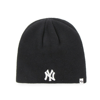Yankees '47 Beanie Knit Black