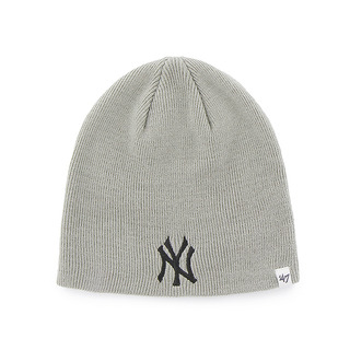 Yankees '47 Beanie Knit Gray