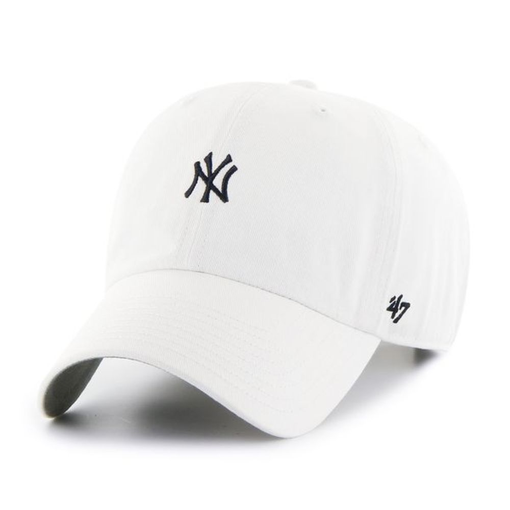 Yankees Base Runner '47 CLEAN UP White