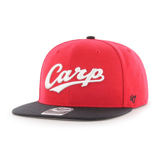 Carp Script Side Two Tone '47 CAPTAIN Red